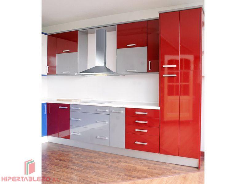 Cocina Modelo Alava Fantastica combinacion de colores en un diseño moderno de cocina.