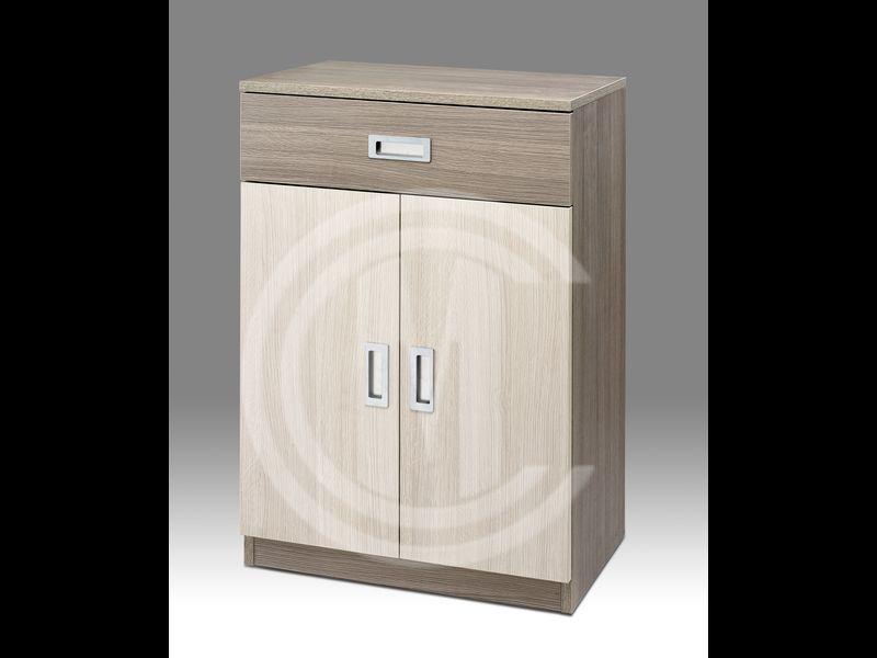 Mueble con puertas Solapado cajón 16cm. con tirador embutido