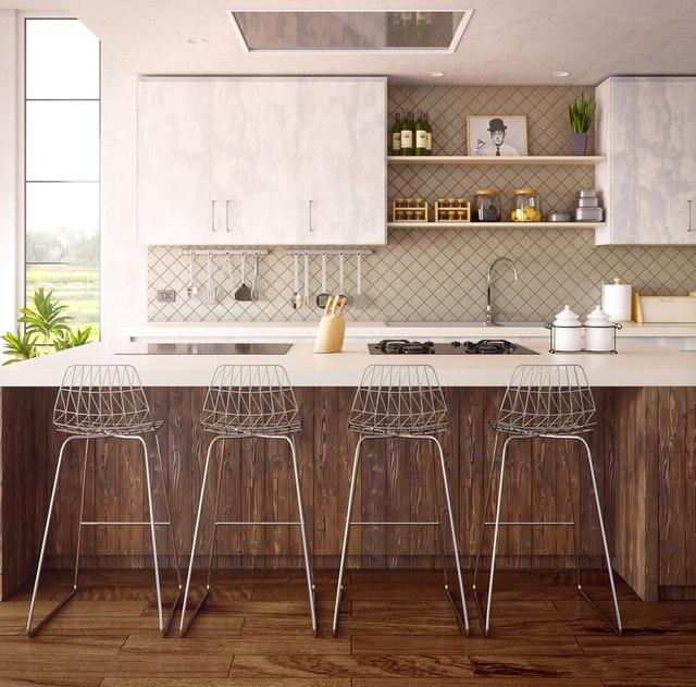 La importancia de los muebles altos en la cocina | Hipertablero